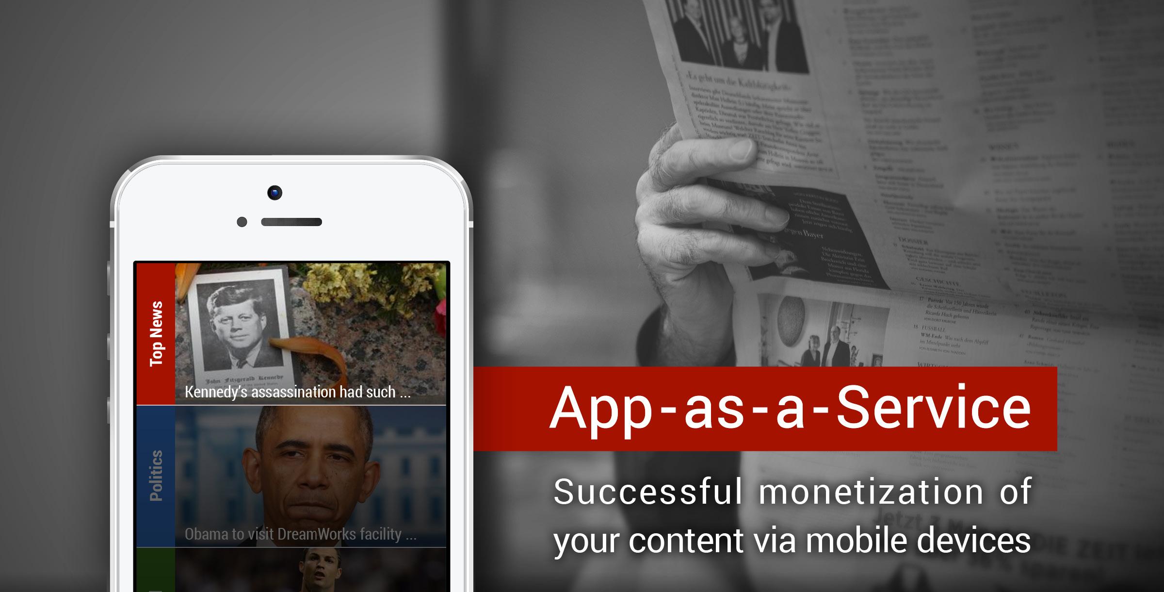 App As A Service Technologie Fur Verlage Und Unternehmen